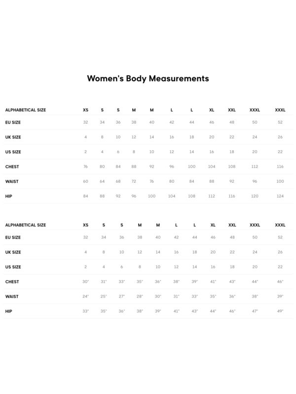 Browse Fashions - Size Chart - GANT Women