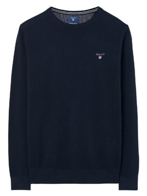 80021 Piqué Crew Sweater 433