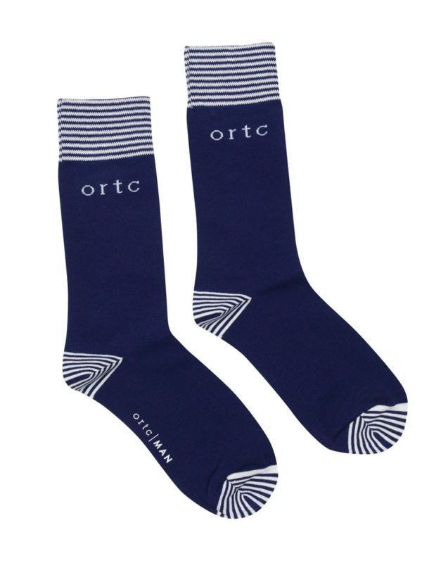 ortc Sock Navy Logo