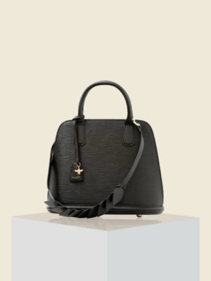 Cecily Clune - Paris End Bag Small Black Epi 1