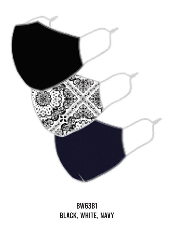 Browse Fashions - Randa Face Mask (3-Pack) BW63B1